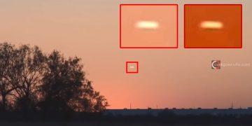 OVNI con forma de «cigarro» es grabado flotando sobre Texas, EE.UU.
