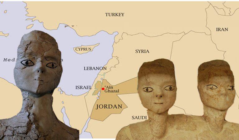 Las estatuas de Jordania: místicas esculturas de hace 9,000 años