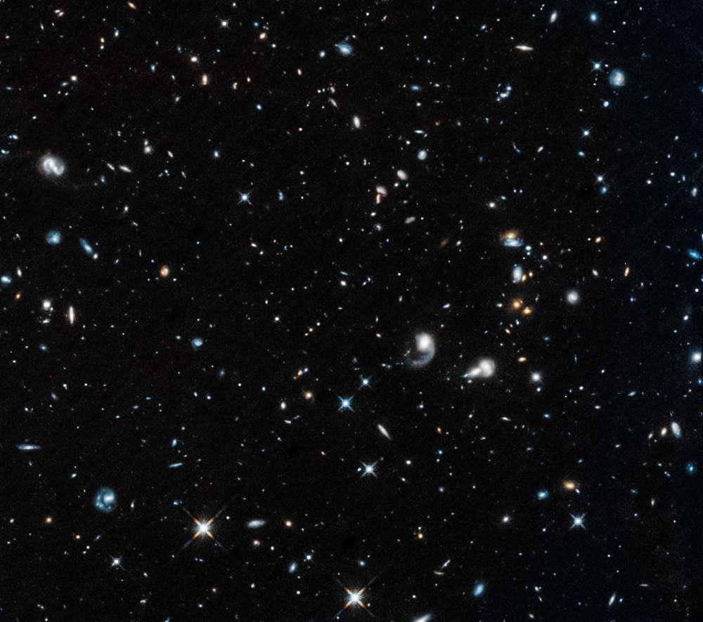 Primera imagen de Hubble luego de salir del modo seguro