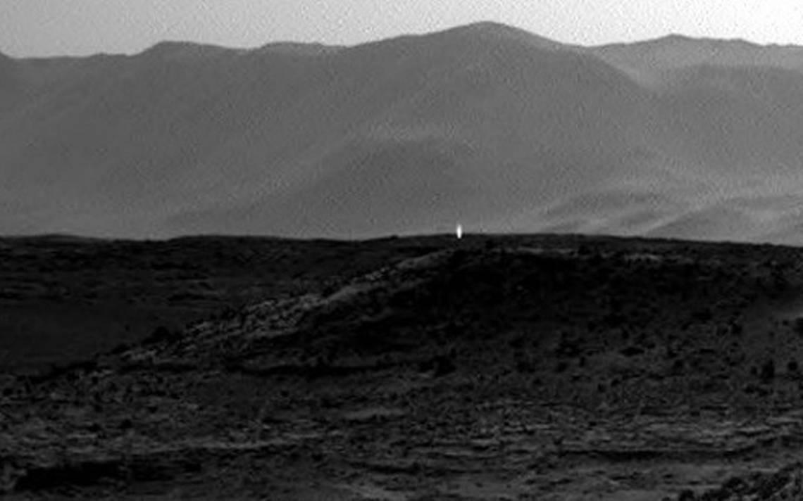 Rayos cósmicos captados en Marte