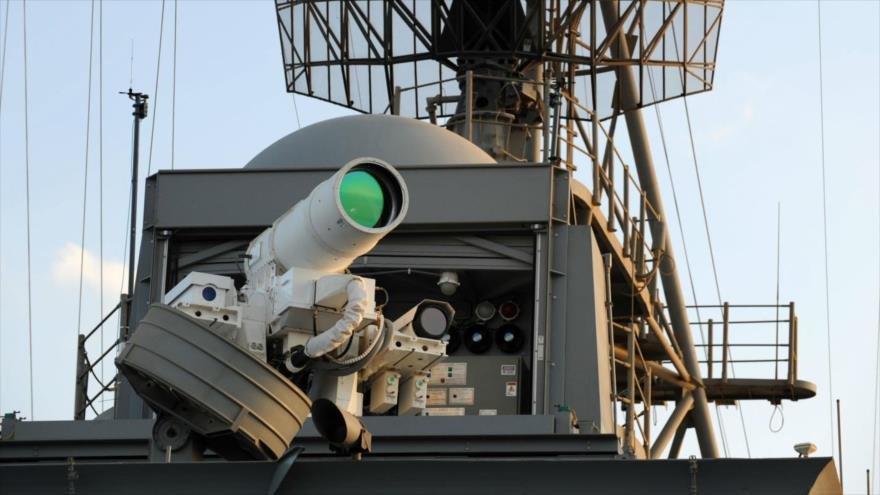 Según el autor del estudio, un láser militar utilizado para derribar misiles en el aire podría utilizarse para construir la baliza
