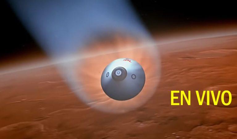 Sonda Insight llega a Marte – Mira la transmisión EN VIVO