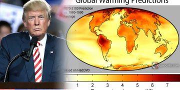 Trump minimiza un último reporte alarmante sobre el cambio climático