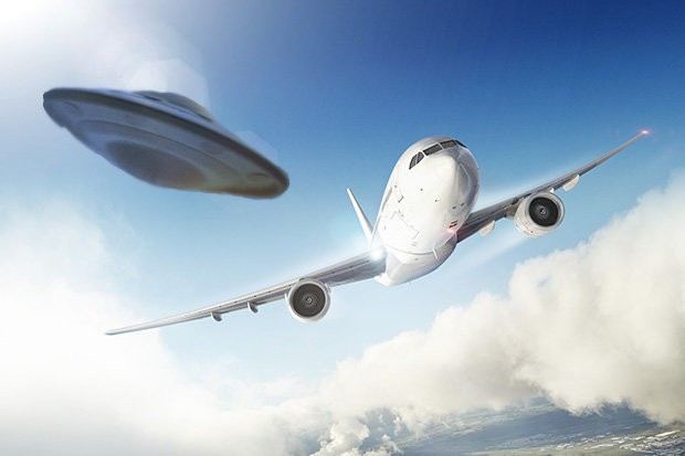 Avistamiento OVNI desde avión