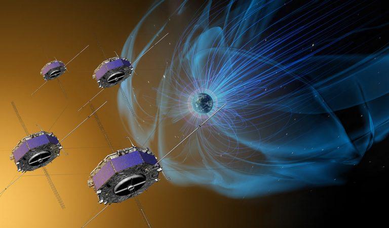 Una explosión de partículas cargadas ha ocurrido en el campo magnético de la Tierra