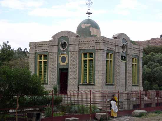 Se creía que esta iglesia contenía el Arca de la Alianza