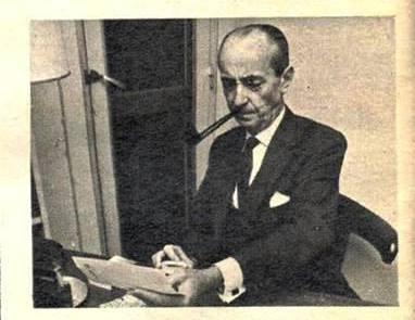 Jacques de Mahieu, autor de «El rey vikingo del Paraguay», Buenos Aires, 1979
