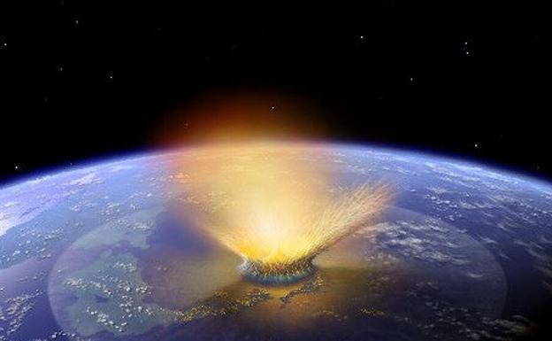 El asteroide habría causado un tsunami que afectó a casi todo el mundo