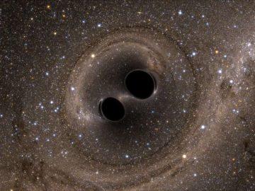 Astrónomos detectan la mayor fusión de agujeros negros hasta ahora