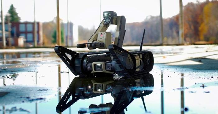 Robot para campo de batalla