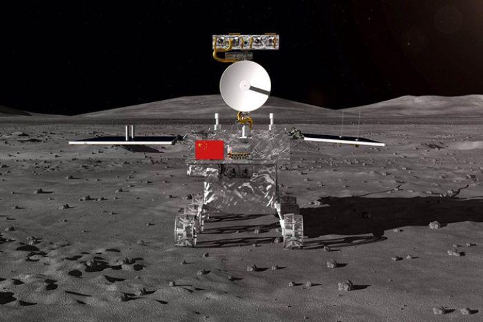 China utilizará el vehículo móvil Chang'e 4 para explorar el otro lado de la luna
