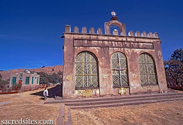 Iglesia de Santa María de Sión. Se creía que este lugar acogía el Arca de la Alianza