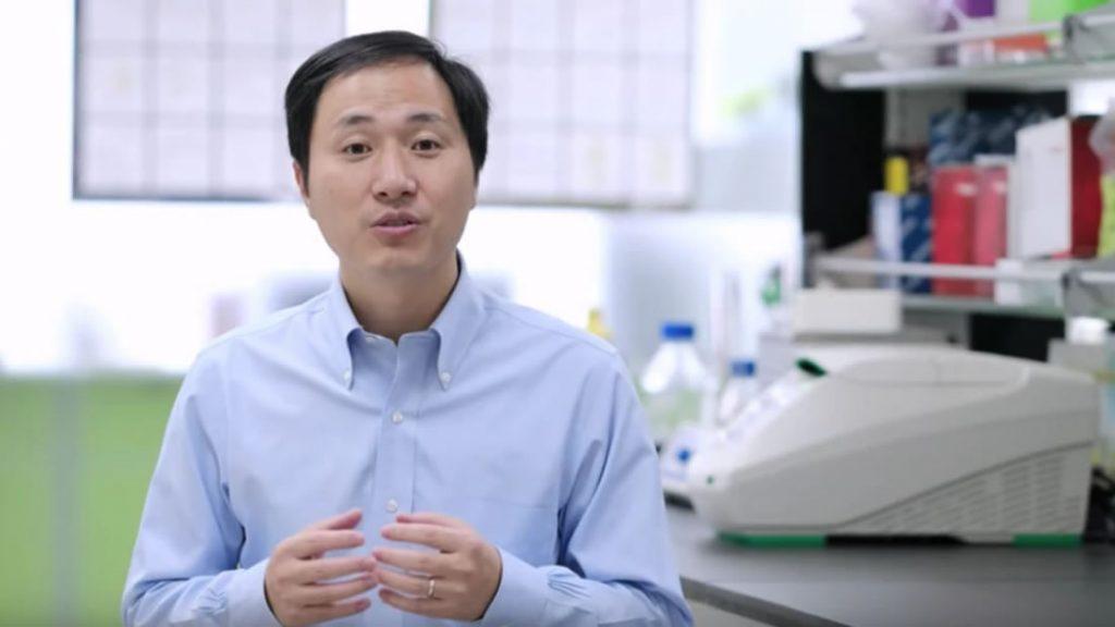 He Kiankui, científico de China, modificó genéticamente a dos bebés