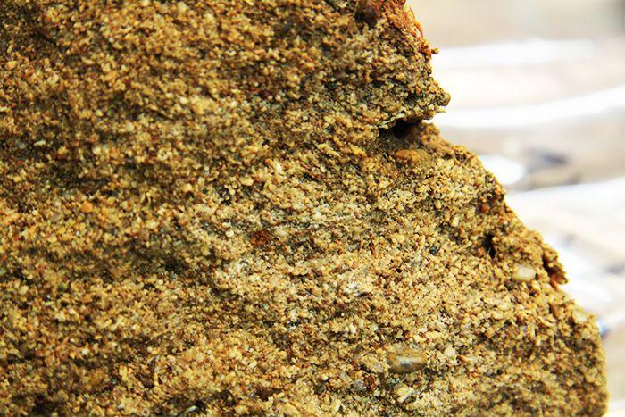 También se analizaron muestras de las dunas endurecidas y se encontró que estaban formadas por granos de arena cementados juntos