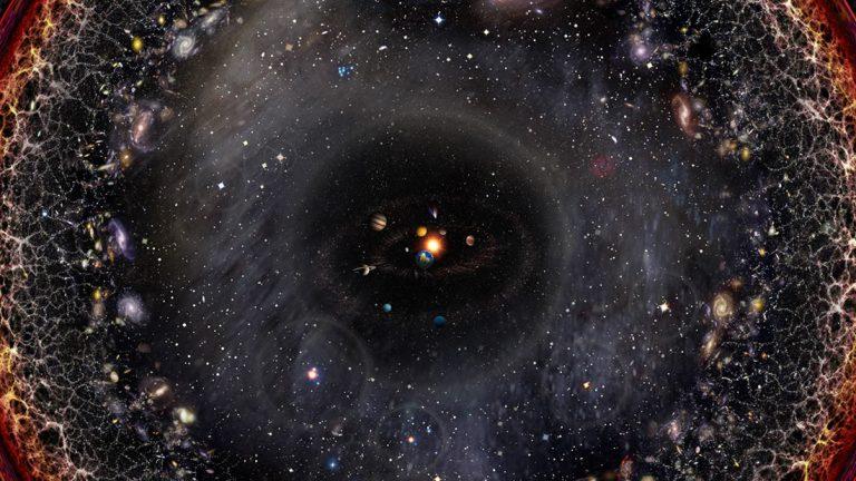 El universo observable es solo una pequeña fracción de las consecuencias del Big Bang