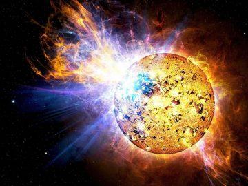 Estrella bebe lanza una llamarada 10.000 veces más intensa que la del Sol