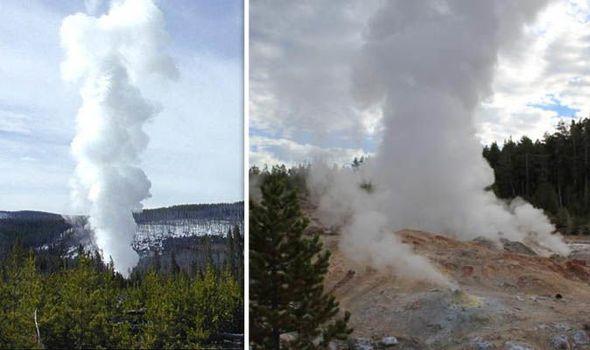 Volcán de Yellowstone: El géiser Steamboat está en erupción a una tasa sin precedentes