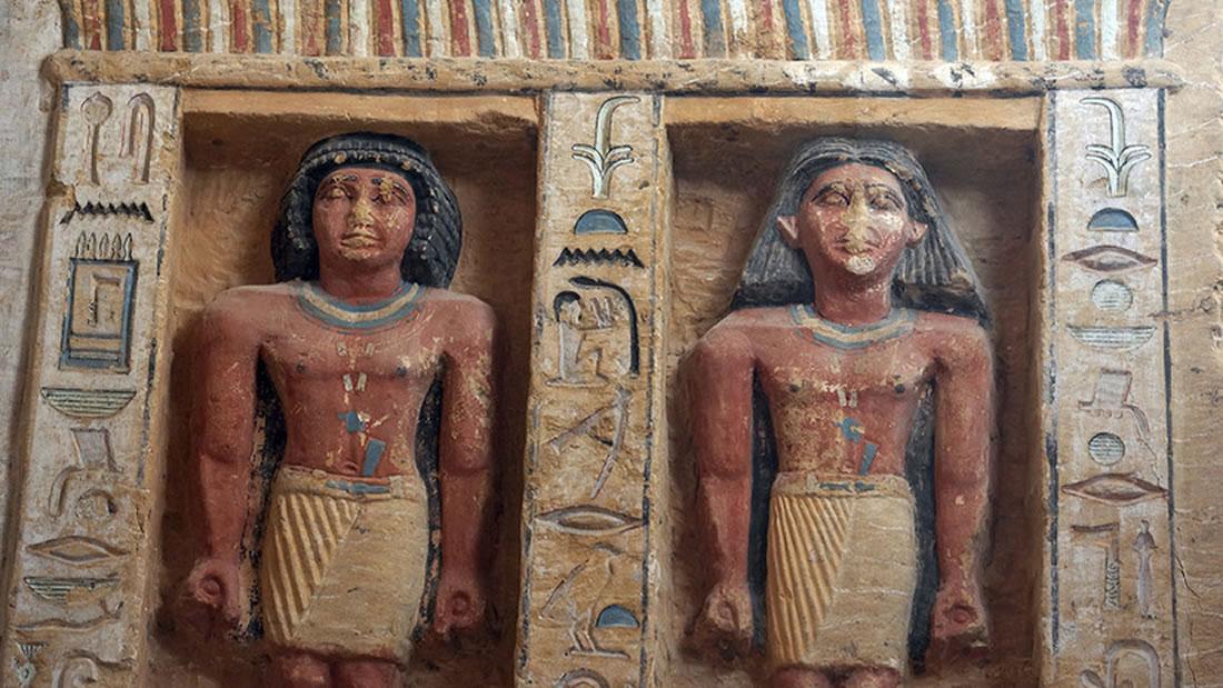 Hallan tumba de hace 4.400 años de un «inspector divino» en Egipto