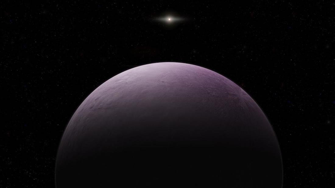 Hallan un nuevo planeta enano en las afueras del Sistema Solar