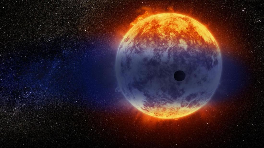 Hubble halla un planeta lejano que se está «evaporando» muy rápido