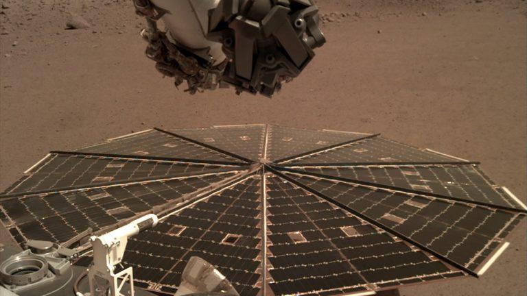 Insight revela como suenan los vientos en Marte