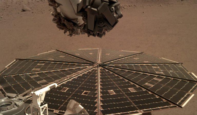 Insight revela cómo suenan los vientos en Marte