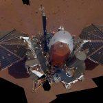 La nave Insight ha tomado su primer selfie en Marte