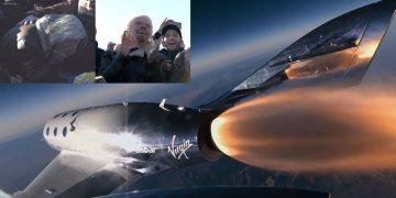 Mira el impresionante vídeo del primer vuelo espacial de Virgin Galactic