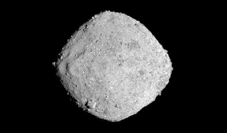 NASA captura un vídeo de Bennu, el asteroide más peligroso