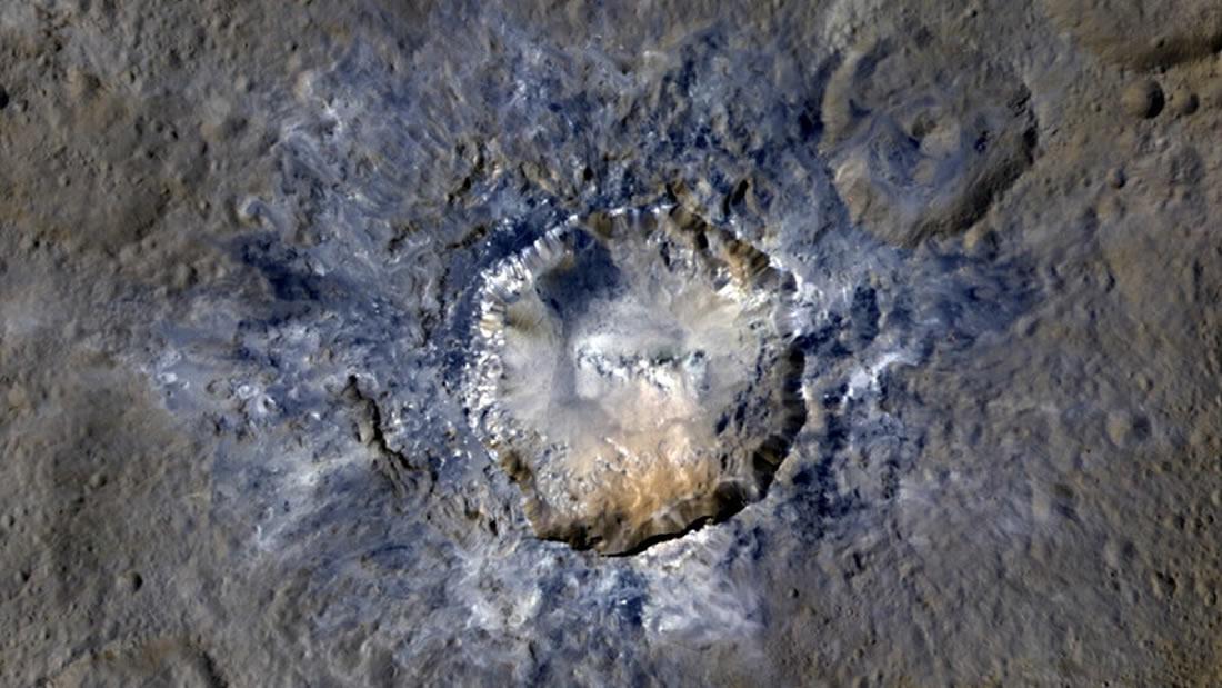 Superficie del planeta enano Ceres es rica en materia orgánica y carbono