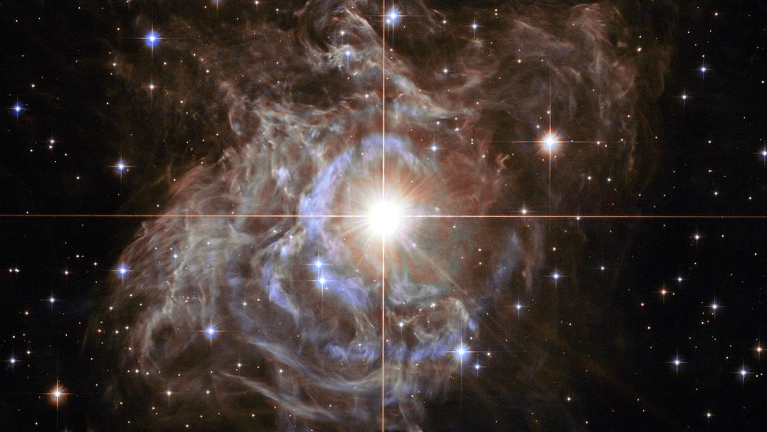 Telescopio Hubble revela esta hermosa «guirnalda cósmica»