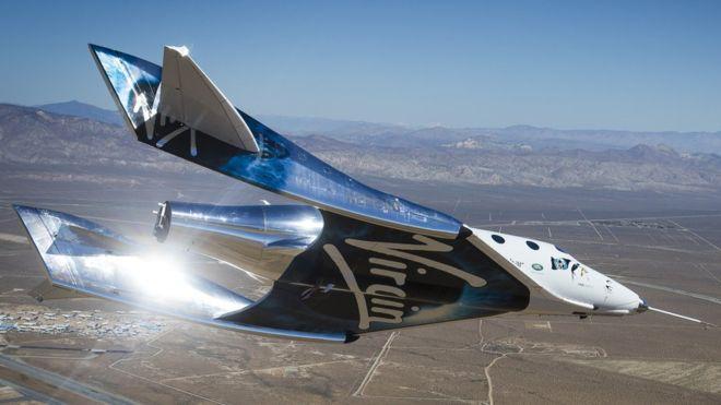 Virgin apuesta por llevar turistas al espacio