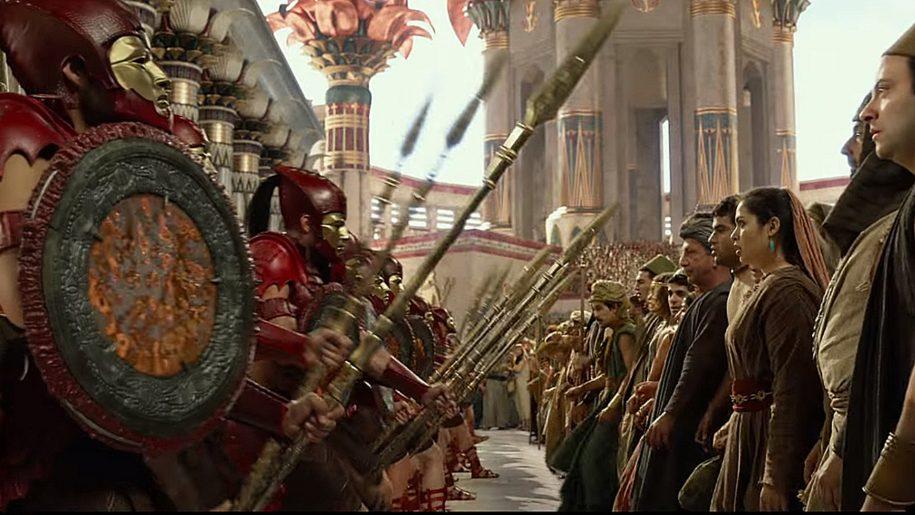Escena de la película «Dioses de Egipto»