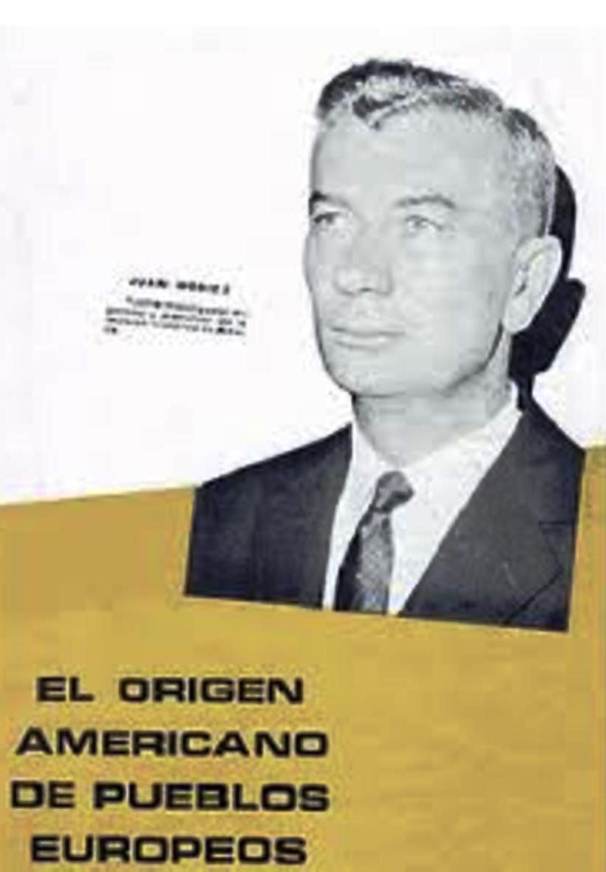 Portada del libro «El Origen Americano de Pueblos Europeos», de János Móricz Opoz