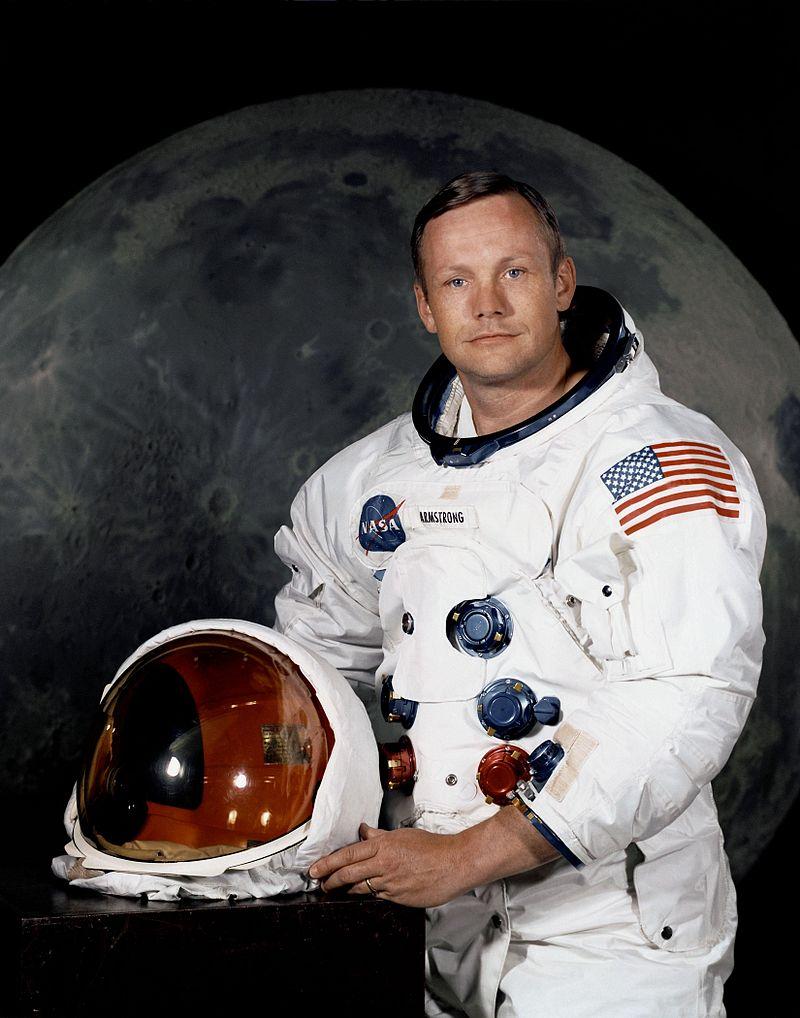 Neil Armstrong fue el primer hombre en la Luna