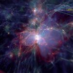 Agujeros negros supermasivos se forman por la materia oscura