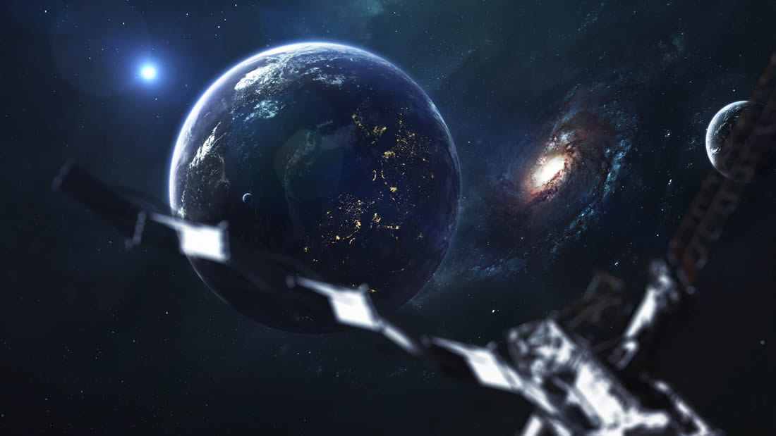 ¿Qué rayos es esto? Astrónomos detectan un objeto que flota a más de 600 kilómetros de la Tierra