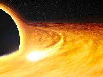 Astrónomos hallan un agujero negro que se encoge misteriosamente