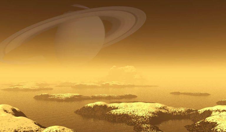 Astrónomos hallan un fenómeno curioso en Titán, luna de Saturno