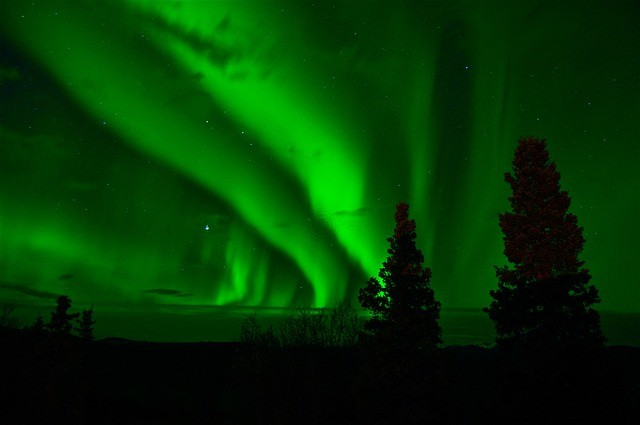 La tormenta solar podría causar la aparición de auroras tanto en el hemisferio norte o sur