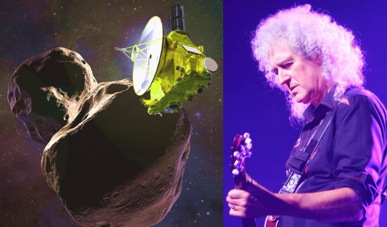 Brian May de Queen lanza el single «New Horizons» para celebrar el épico sobrevuelo