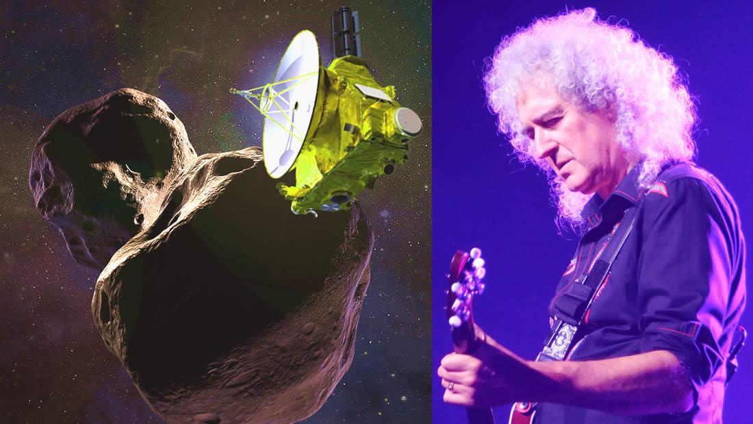 Brian May de Queen lanza el single «New Horizons» para celebrar el épico sobrevuelo