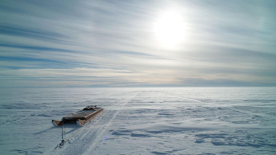 Científicos perforan 1 kilómetro en la Antártida para buscar vida en un lago subglacial
