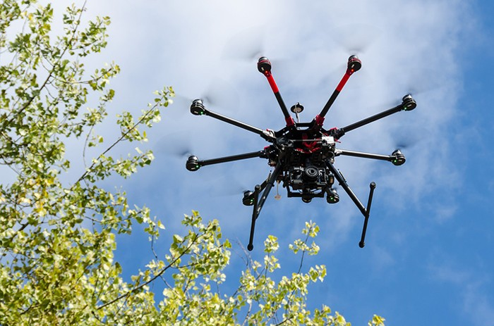 Imagen referencial. Los drones son un método común de vigilancia y espionaje