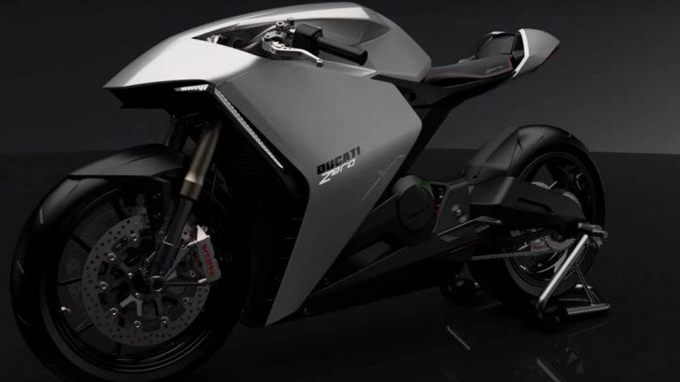 Ducati está trabajando en una motocicleta eléctrica futurista