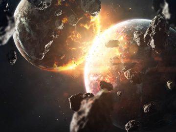 El impacto de asteroides aumentó de 2 a 3 veces en comparación con la Tierra temprana