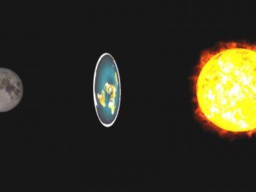 Esto es lo que los terraplanistas creen que causa un eclipse lunar