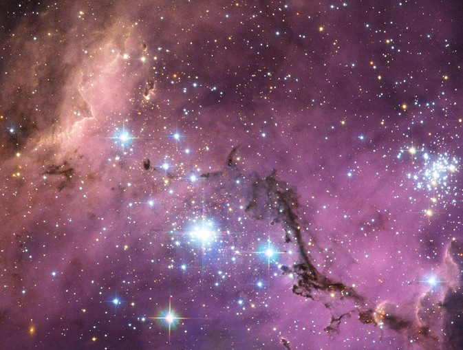 La Gran Nube de Magallanes observada por el Telescopio Espacial Hubble