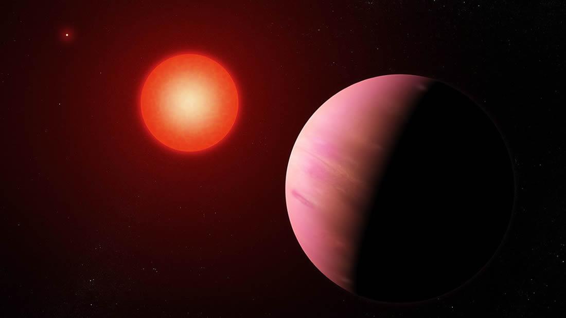 Hallan un exoplaneta raro de 2 veces el tamaño de la Tierra y que puede albergar agua líquida