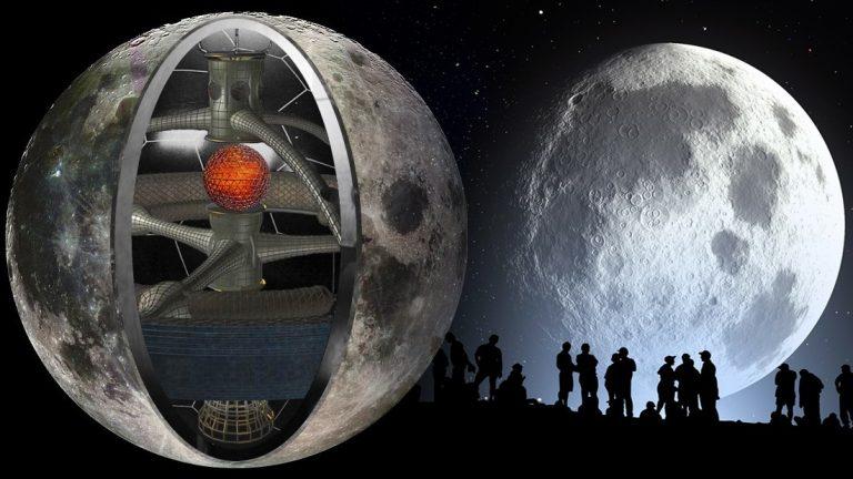 La Luna Hueca Y Artificial Diversos Científicos Lo